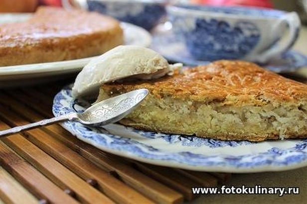 Армянская Гата с грецкими орехами