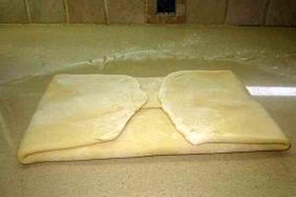 Слоёное тесто бездрожжевое 12
