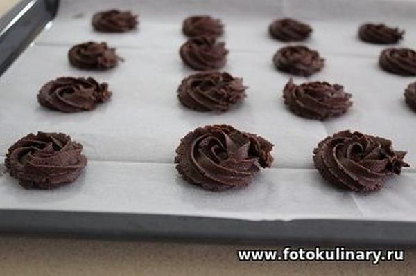 Шоколадное печенье 06