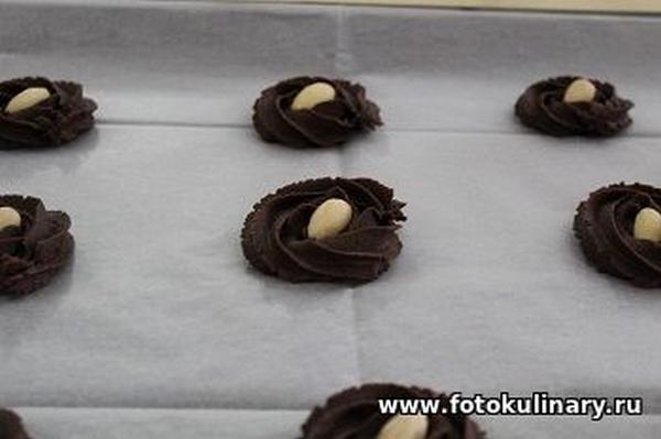 Шоколадное печенье 07