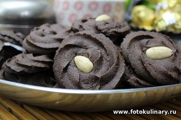 Шоколадное печенье 08
