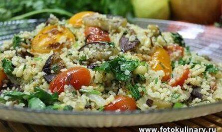 Средиземноморский салат 09