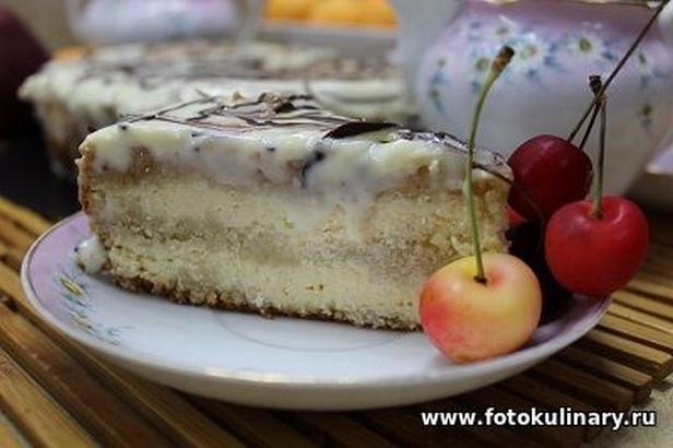 Венгерский творожный пирог