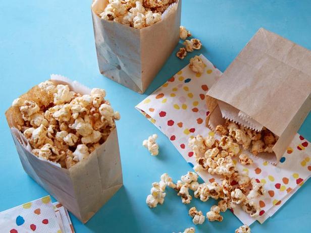 Фото Полезный попкорн со вкусом сыра